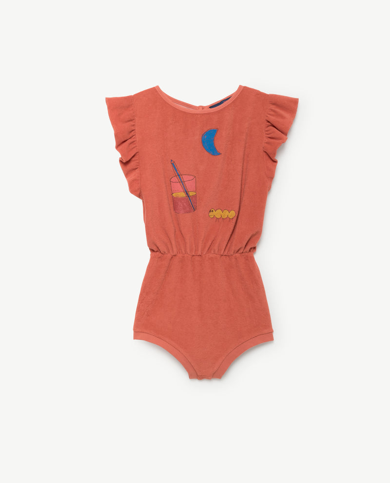 KOALA KIDS SUIT - RED GLASS
