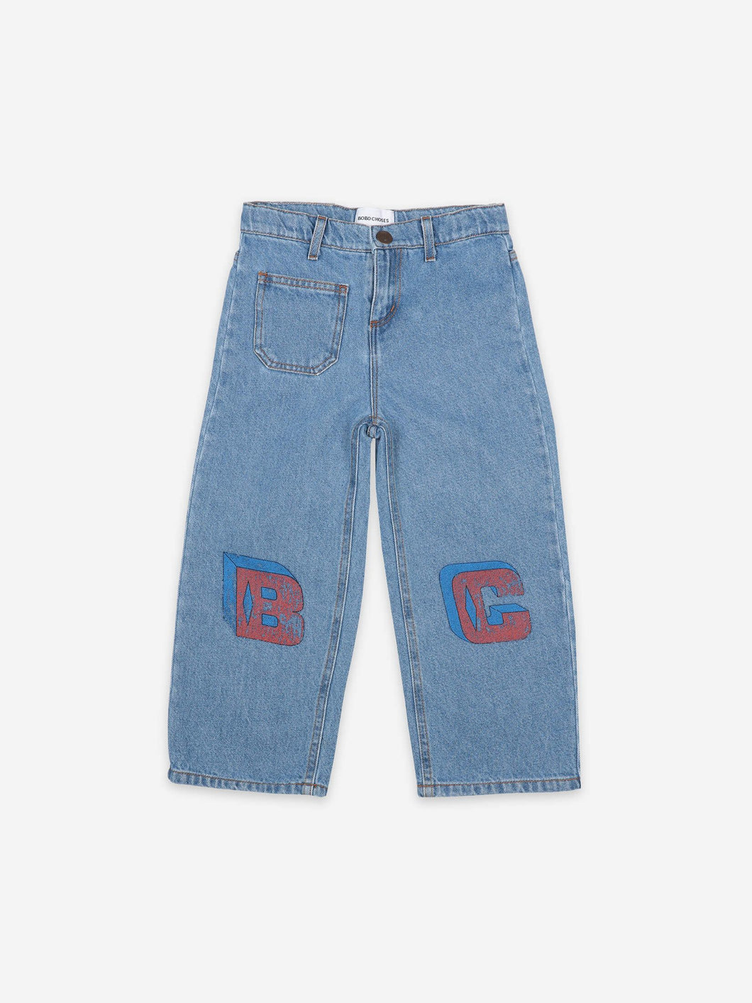 Bobo Squared Denim Pants