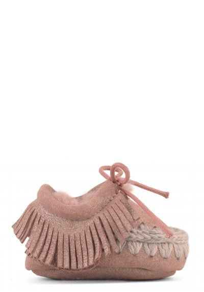 ESKIMO INFANT LACE & FRINGES