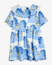 Load image into Gallery viewer, Blue Unicorn Woven Dress