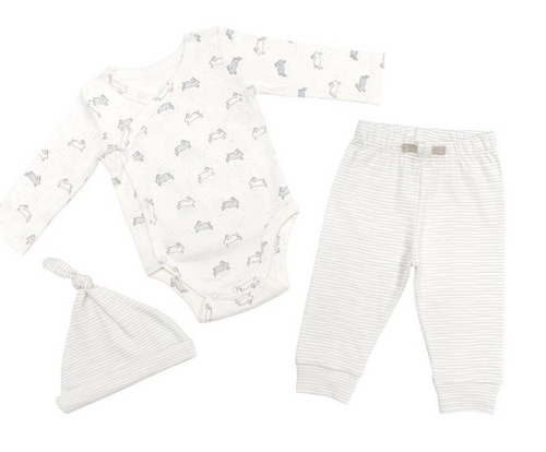 TINY BUNY ONESIE SET