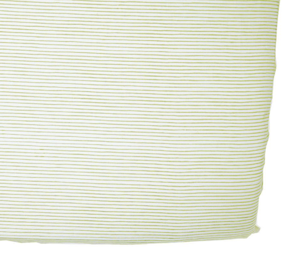 Pencil Stripes Crib Sheet