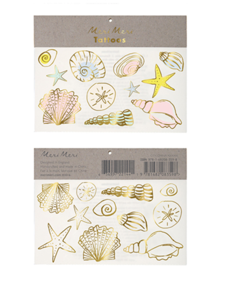 SEASHELL TATTOOS