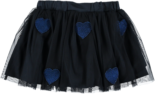 Honey Girls Star Patched Tulle Skirt