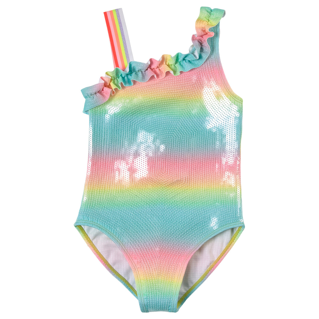 Sequin One-Piece Swimsuit
