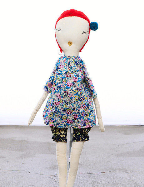 Jess Brown Rag Doll - Pip