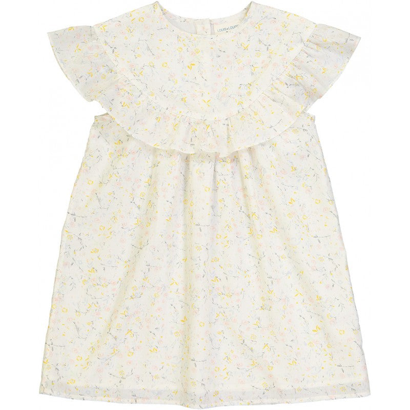 Cotton Flowers Dress