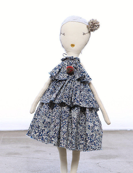 Jess Brown Rag Doll- Viv