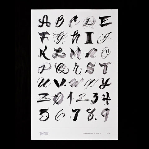 36 Days of Type (2015) Print