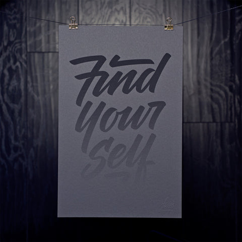 Discovery / Find Yourself Print