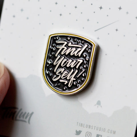 Discovery Pin - Find Yourself