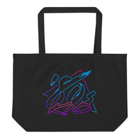 80s Kid - Large Tote