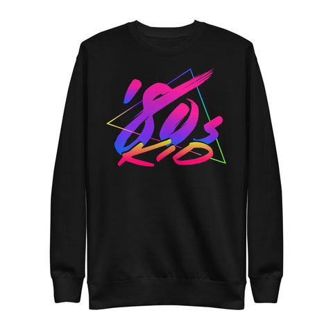 80s Kid - Unisex Fleece Pullover