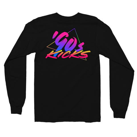 90s Kicks - Long sleeve tee