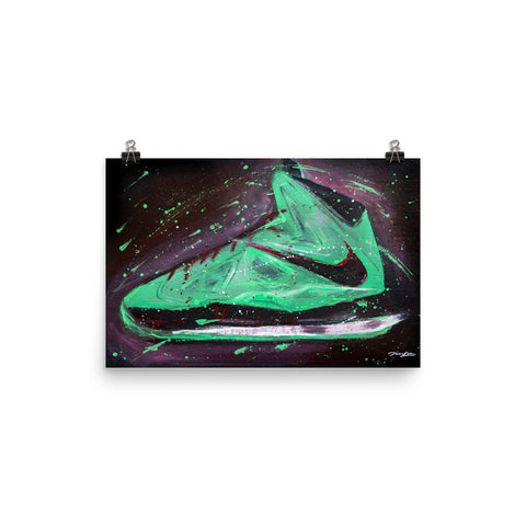 Poster - LeBron X China Jade