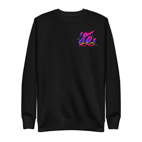 80s Kid - Small Solid - Fleece Pullover