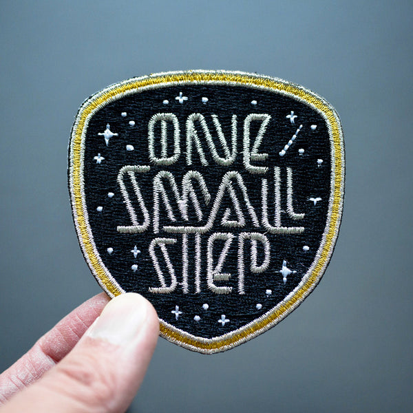 Discovery / One Small Step Mission Patch