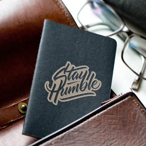 Stay Humble Moleskine Cahier Journal