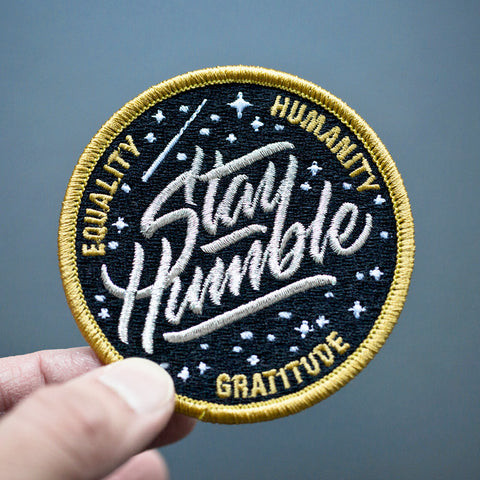 Discovery / Stay Humble Mission Patch