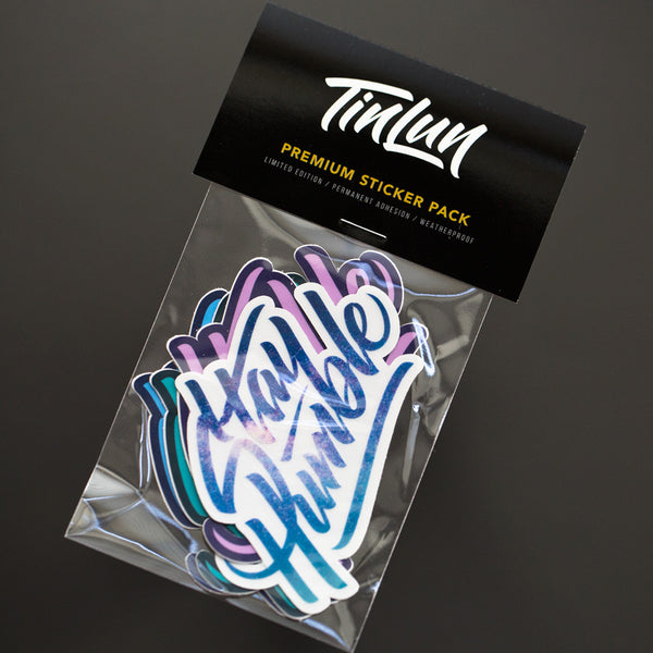 Stay Humble Sticker - Galaxy Pack