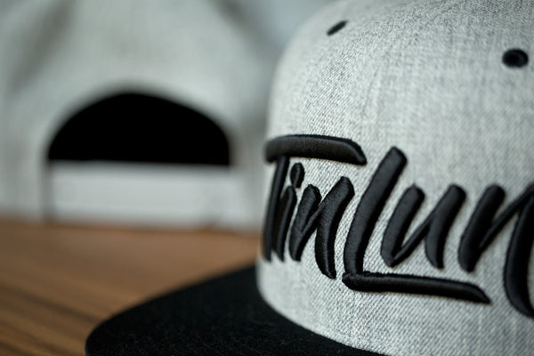 Tinlun Snapback - Heather Grey