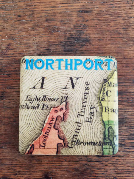 Northport Map Coaster
