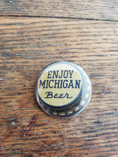 Enjoy Michigan Beer Pin