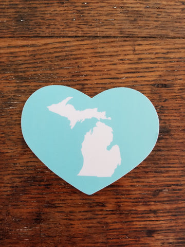 Love Michigan Sticker