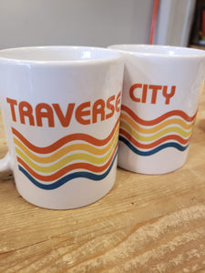 Retro Traverse City Mug
