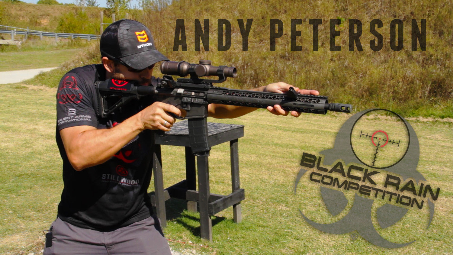 VIDEO: Black Rain Ordnance Pro Shooter Andy Peterson Shows off his Custom AR15 Rifle.