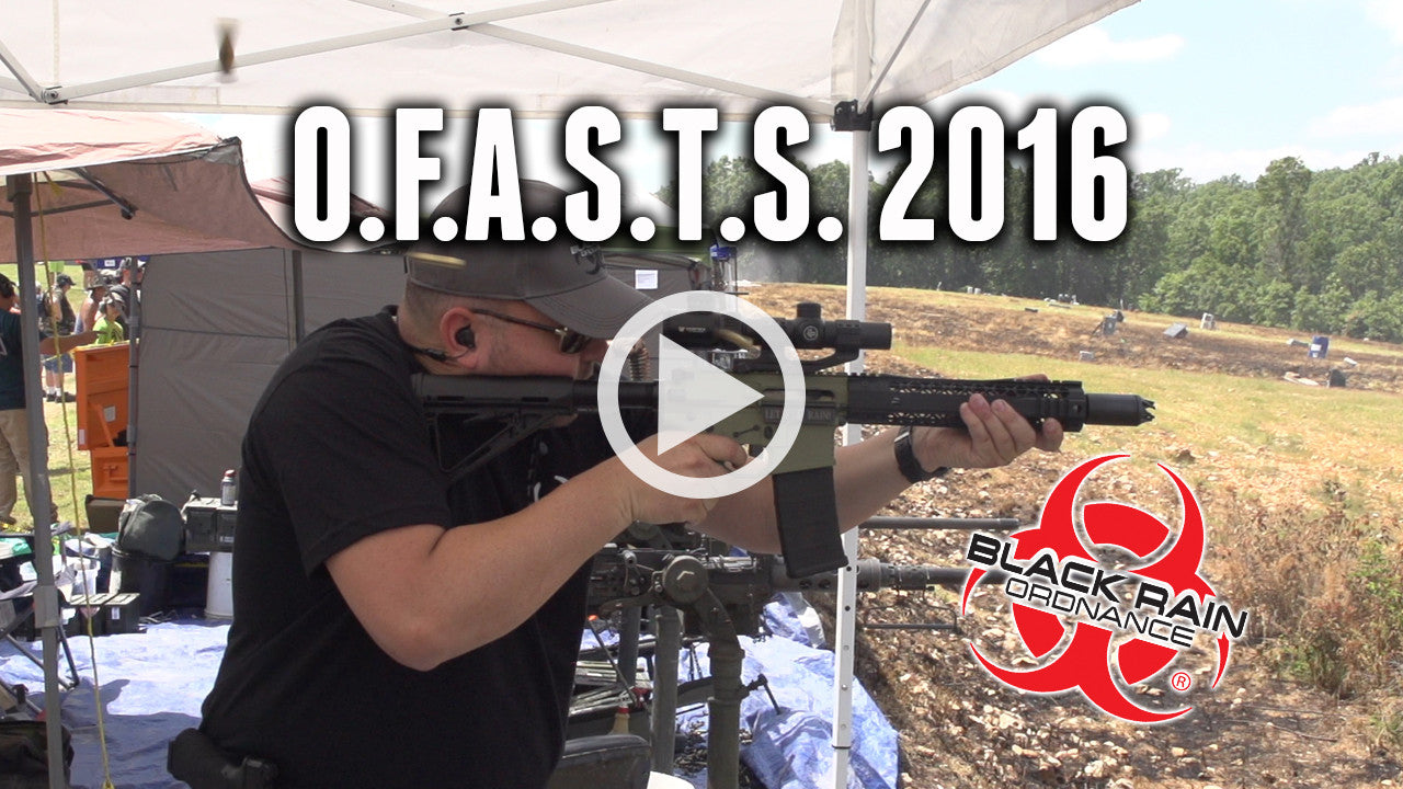 Black Rain Ordnance to attend O.F.A.S.T.S. 2016 (VIDEO)