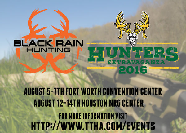 Black Rain Ordnance to attend TTHA Hunters Extravaganza!