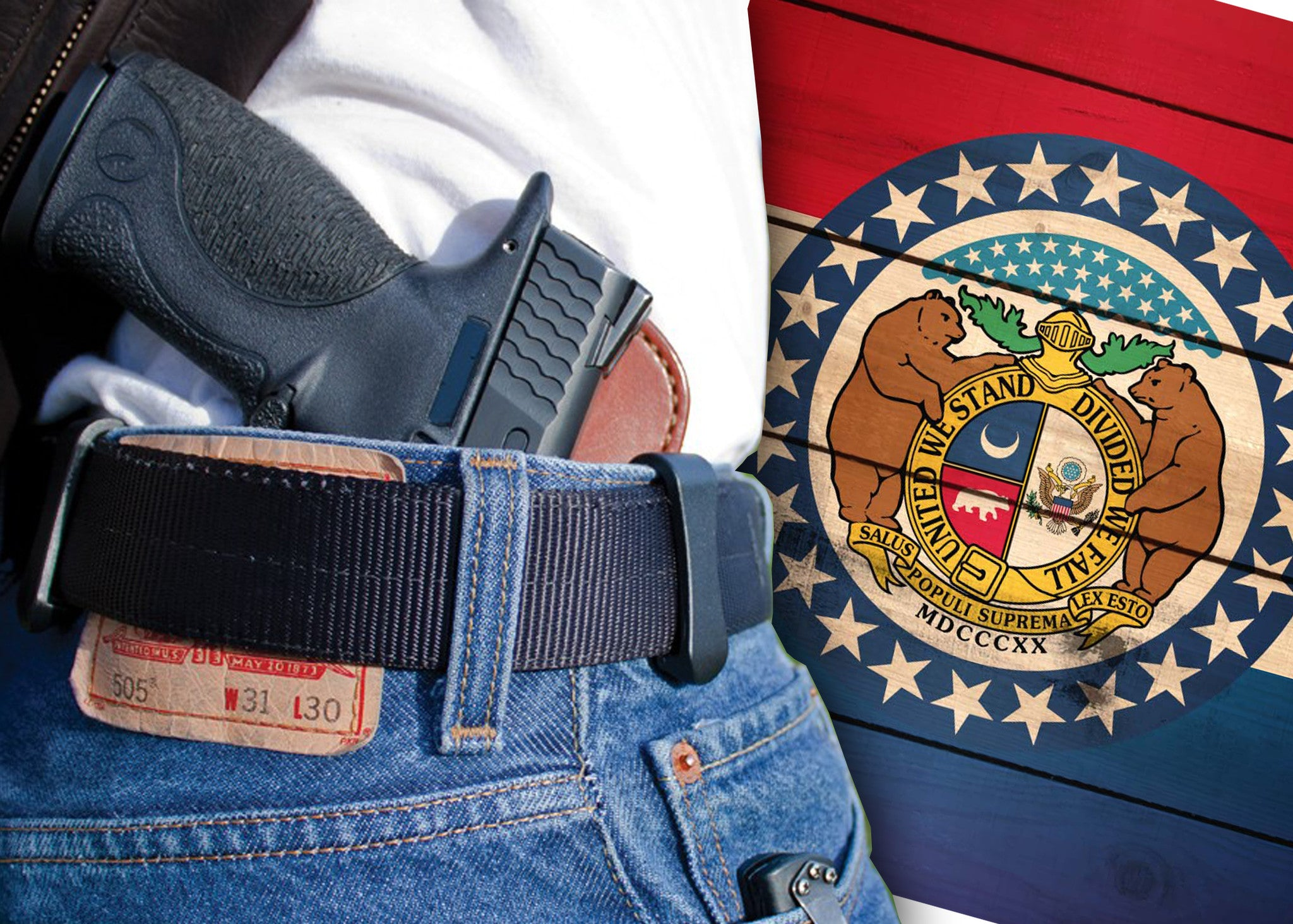 MISSOURI OVERRIDES VETO; ENACTS CONSTITUTIONAL CARRY.