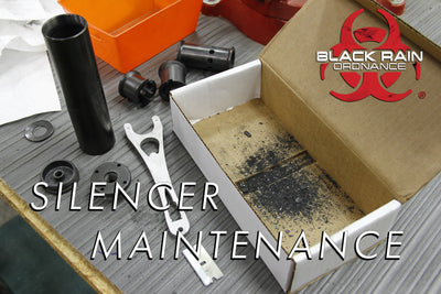 BRO TIP: How to clean and maintain your Black Rain Ordnance Silencer.