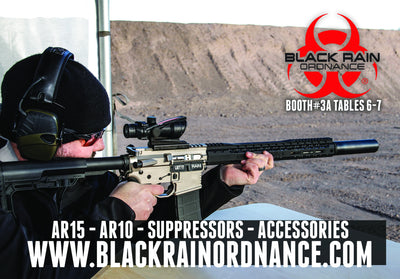 BLACK RAIN ORDNANCE TO ATTEND WANENMACHER'S TULSA ARMS SHOW SPRING 2017