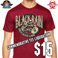 BIKES BLUES & BBQ TEE LIQUIDATION
