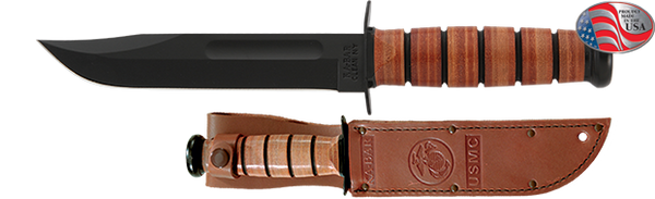 USMC KA-BAR - Full-size with Straight Edge