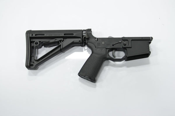 COMPLETE 223 BLACK LOWER WITH BRO-DIT AND MAGPUL CTR STOCK - Black Rain Ordnance