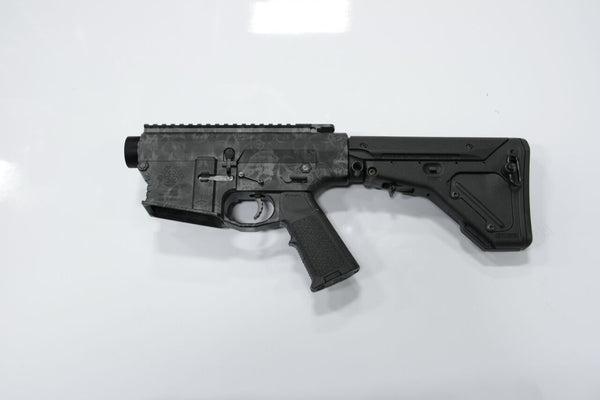 COMPLETE 308 SKULL LOWER WITH MATCHING UPPER BRO-DIT WITH MAGPUL UBR STOCK - Black Rain Ordnance