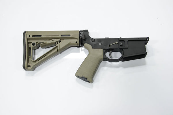 BLACK RAIN COMPLETE LOWER CTR STOCK FDE - Black Rain Ordnance