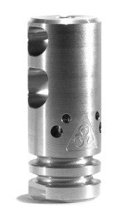 Black Rain Ordnance Round Competition Compensator - Machined