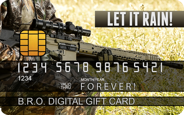 BLACK RAIN ORDNANCE DIGITAL GIFT CARDS - Black Rain Ordnance