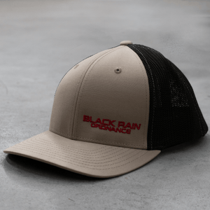 BRO Fitted Hat - Khaki and Coffee