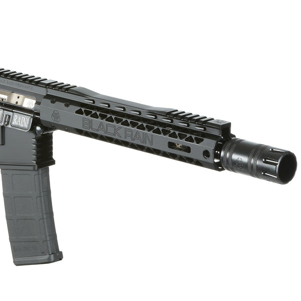 AR15 BLACK RAIN ORDNANCE RECON SERIES SHORT BARREL RIFLE CLOSE UP
