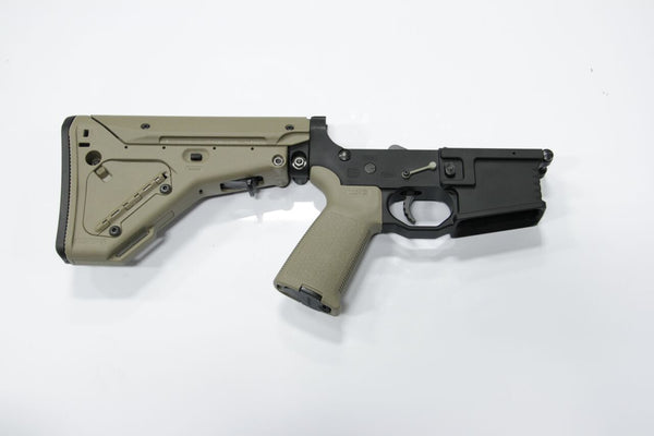 COMPLETE 223 BLACK LOWER WITH BRO-DIT AND MAGPUL UBR STOCK