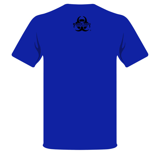 BLUE BLACK RAIN ORDNANCE TREAD T-SHIRT