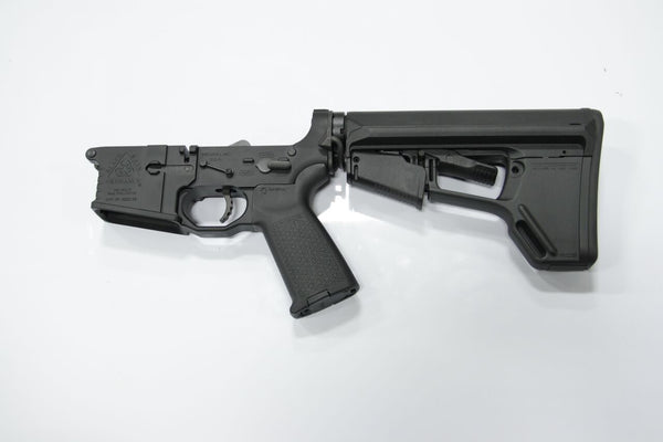 COMPLETE 223 BLACK LOWER WITH MAGPUL ACSL STOCK AND BRO-DIT - Black Rain Ordnance