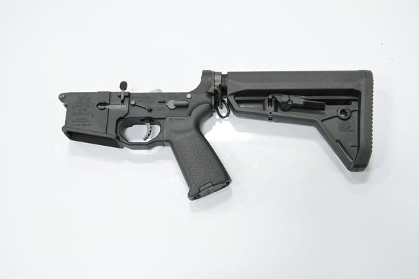 COMPLETE LOWER BLACK 223 MAGPUL SL STOCK - Black Rain Ordnance