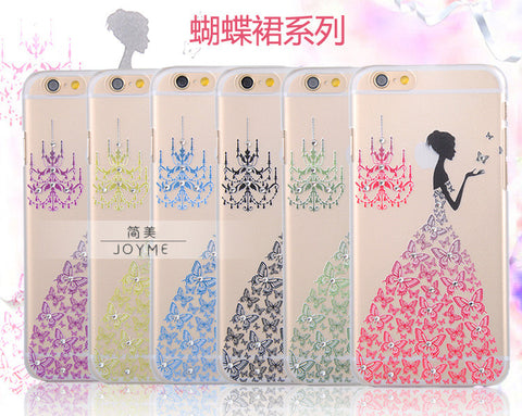 butterfly skirt iphone case