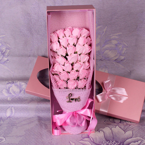 33 Soap Rose Bouquet VALENTINES GIFT